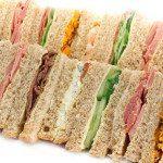 Buffet sandwich platter