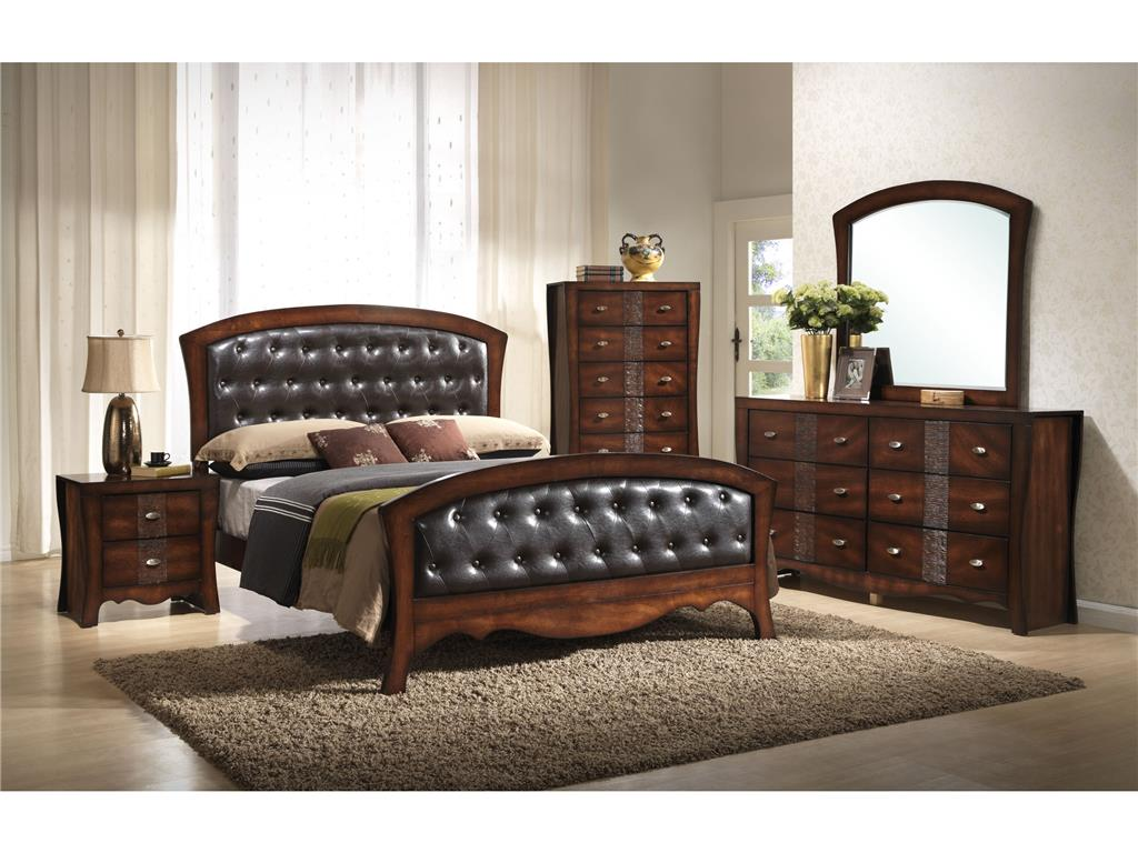 Jenny King Bed Elements Espresso Pricepro Grocery And Furniture