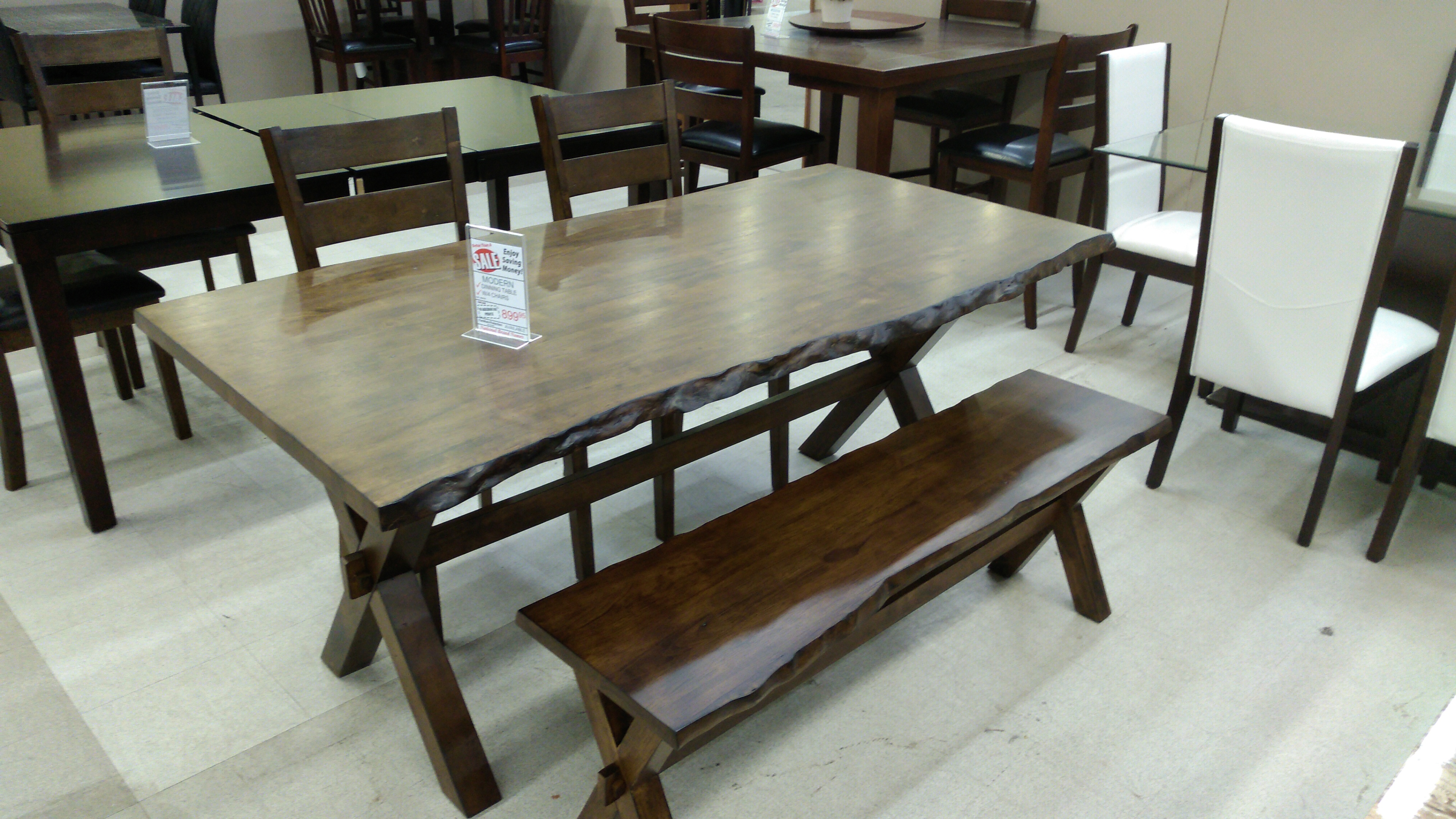 Pleasing 5020 Table 2 Chairs And Bench Interior Design Ideas Gentotryabchikinfo